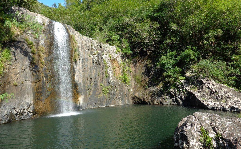 7 cascades waterfall - Mauritius
