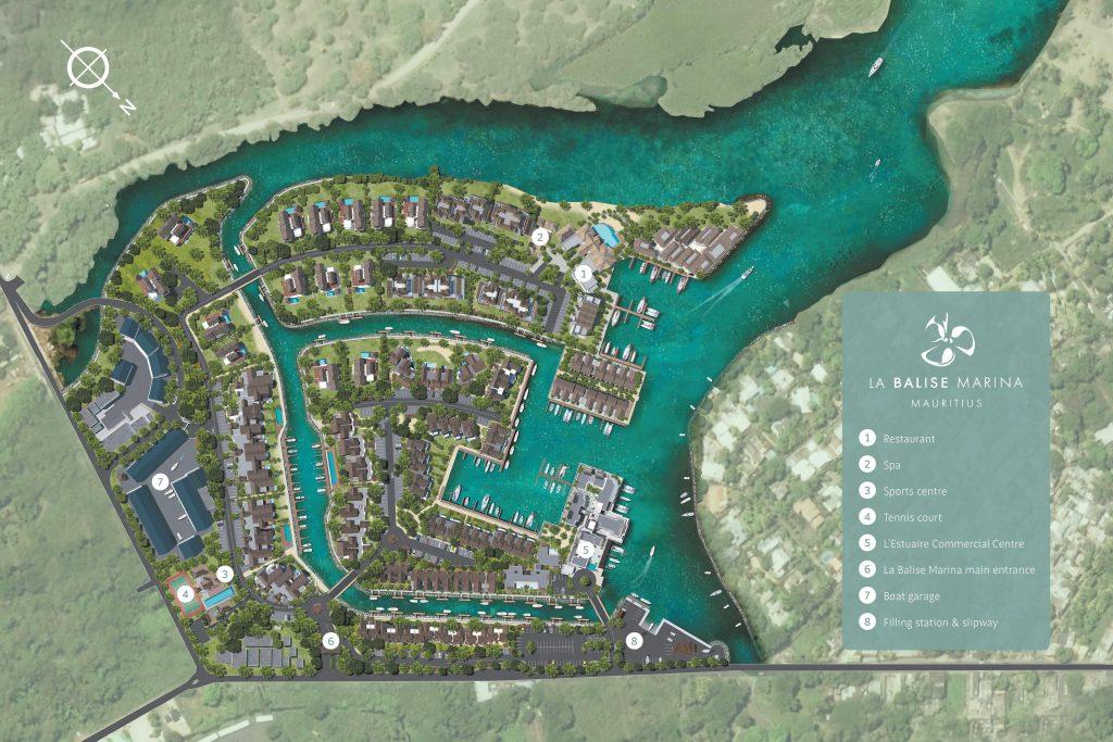 La Balise Marina - Master Plan