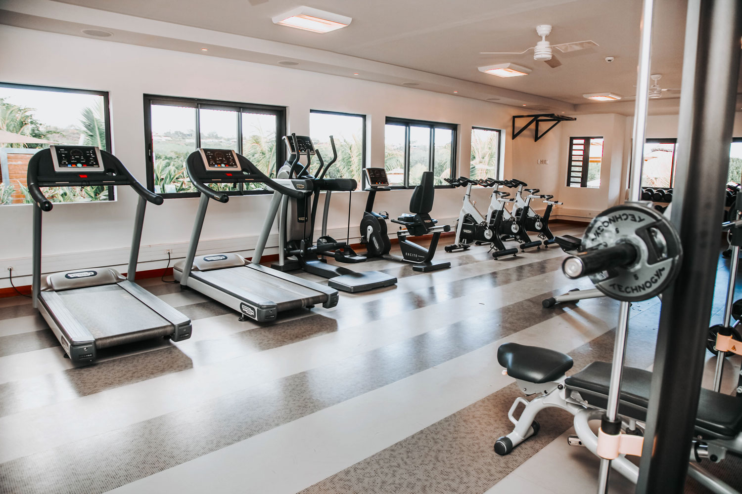 La Balise Marina high end facilities - Gym