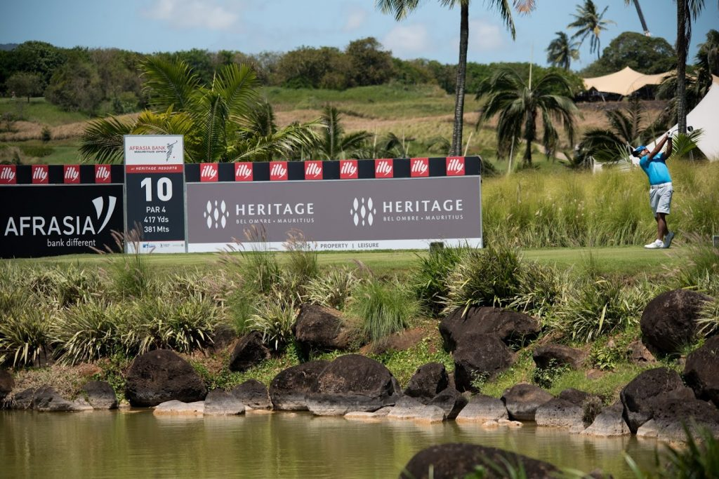 AfrAsia Bank Mauritius Open, golf competition, heritage golf club, play golf in mauritius, entertainment in mauritius, luxury estate in mauritius